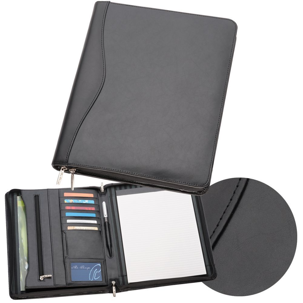 A4 Deluxe Leather Compendium