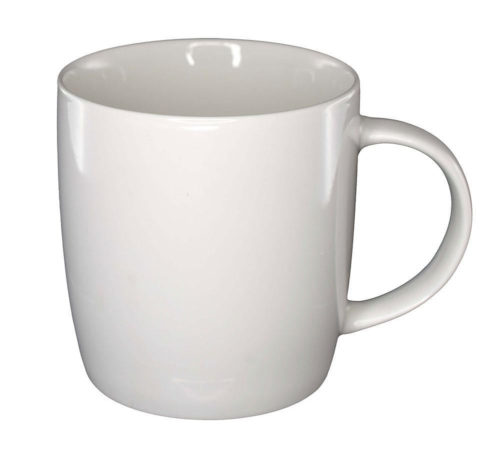 Ariston bone china barrel mug