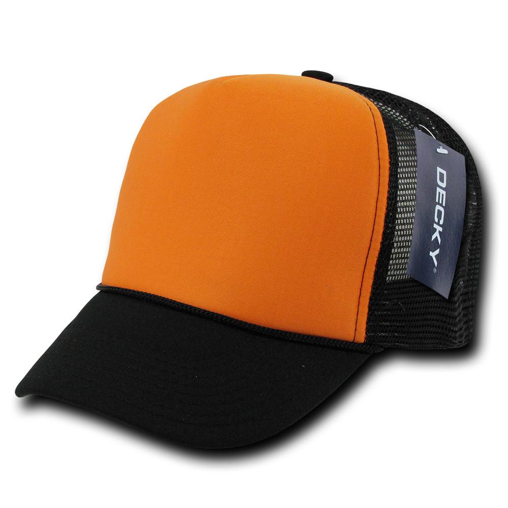 Decky Trucker Hats: Decky Industrial Mesh Trucker Cap